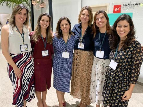 grupo das promotoras  que apresentaram trabalhos