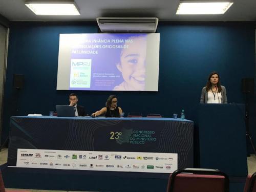 vivane - painel sobre averiguação oficiosa e primeira infancia